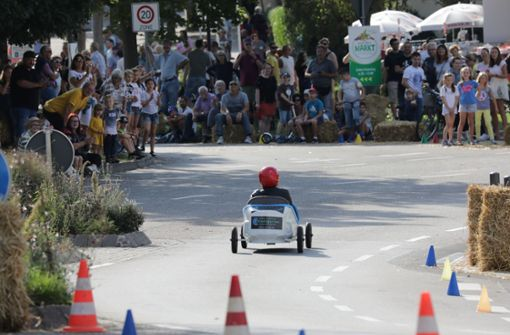 """Grand Prix in """"Rom"""": Tollkühne Fahrer in ihren rasenden Seifenkisten"""
