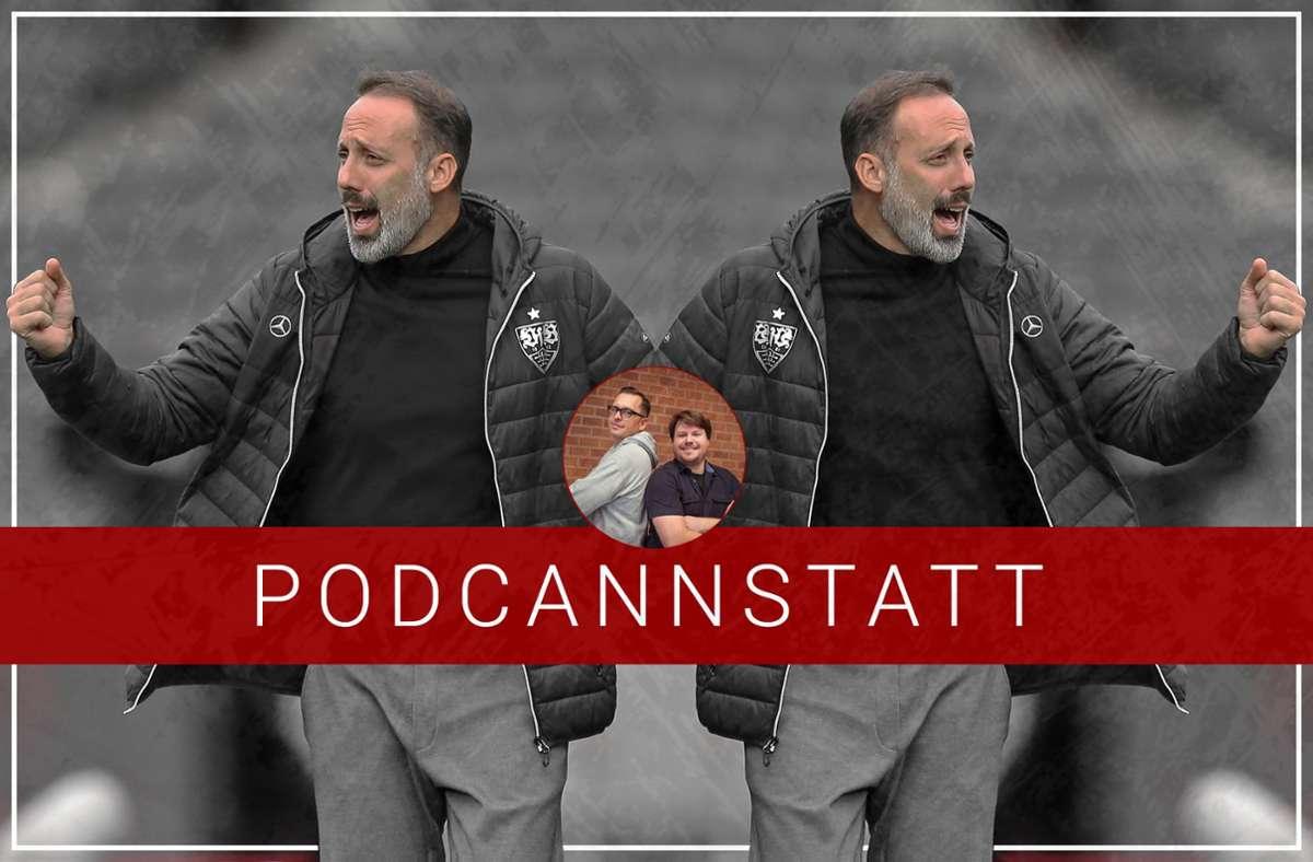 Pellegrino Matarazzo und die Taktik des VfB Stuttgart stehen im Fokus dieser Folge. Foto: Baumann/StZN