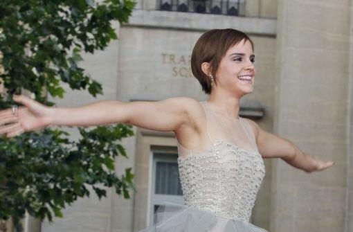 Mit Emma Watson kam die Sonne raus