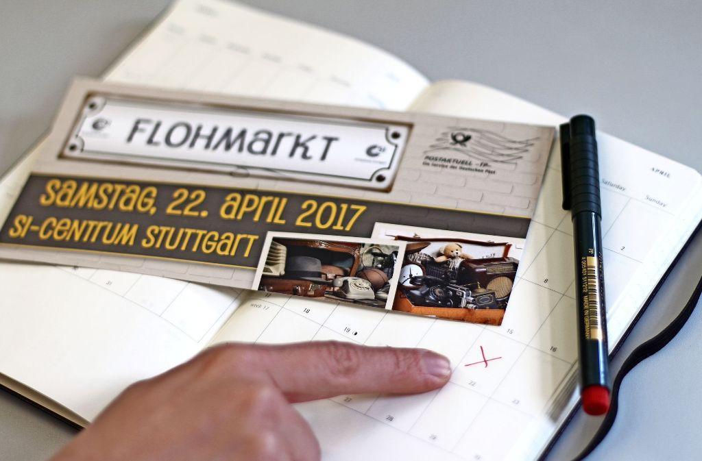 Viele Bürger haben sich den Flohmarkt am SI-Centrum sicherlich schon im Kalender eingetragen. Foto: Sabrina Höbel
