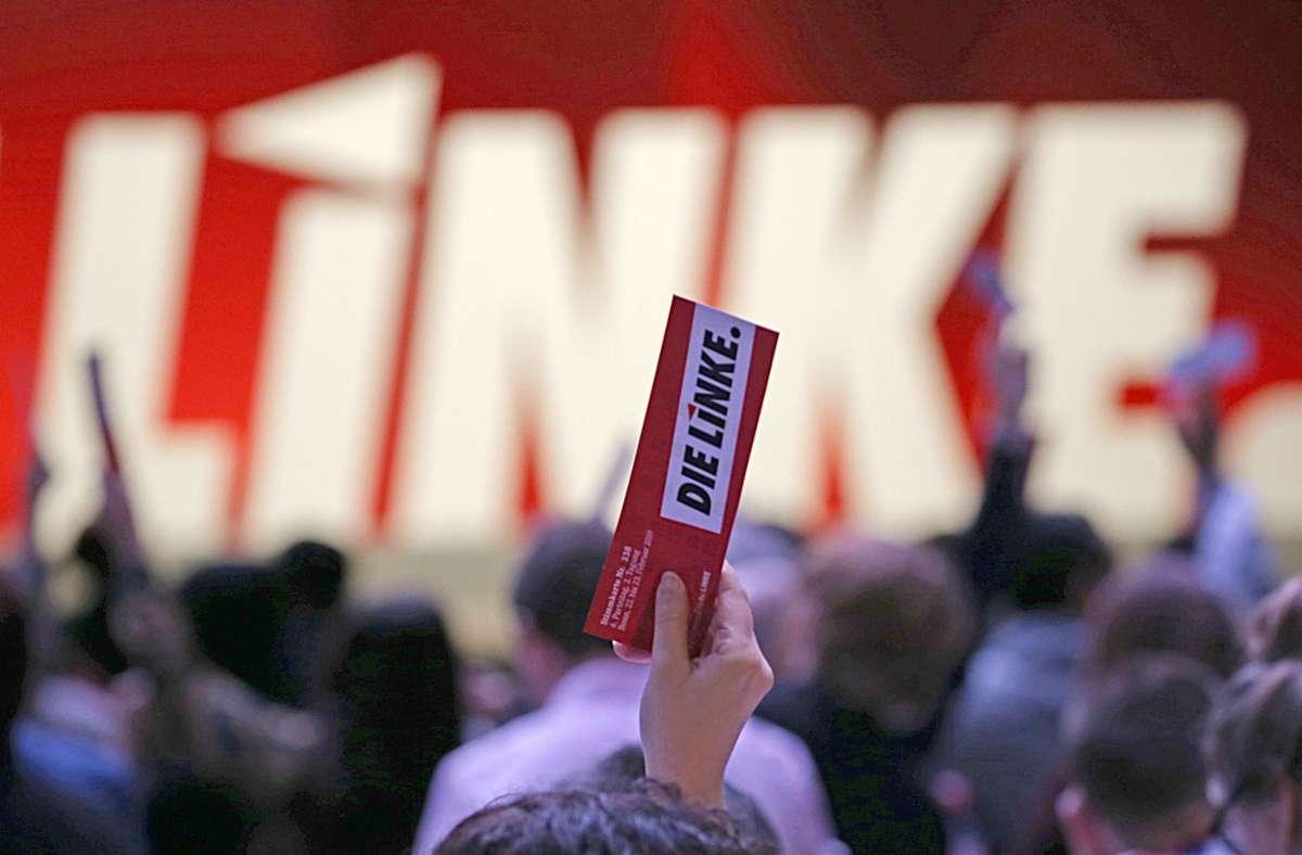 Die Linke beschließt an diesem Wochenende ihr Wahlprogramm und wählt ihre Spitzenkandidaten für die Bundestagswahl. Foto: dpa/Oliver Berg