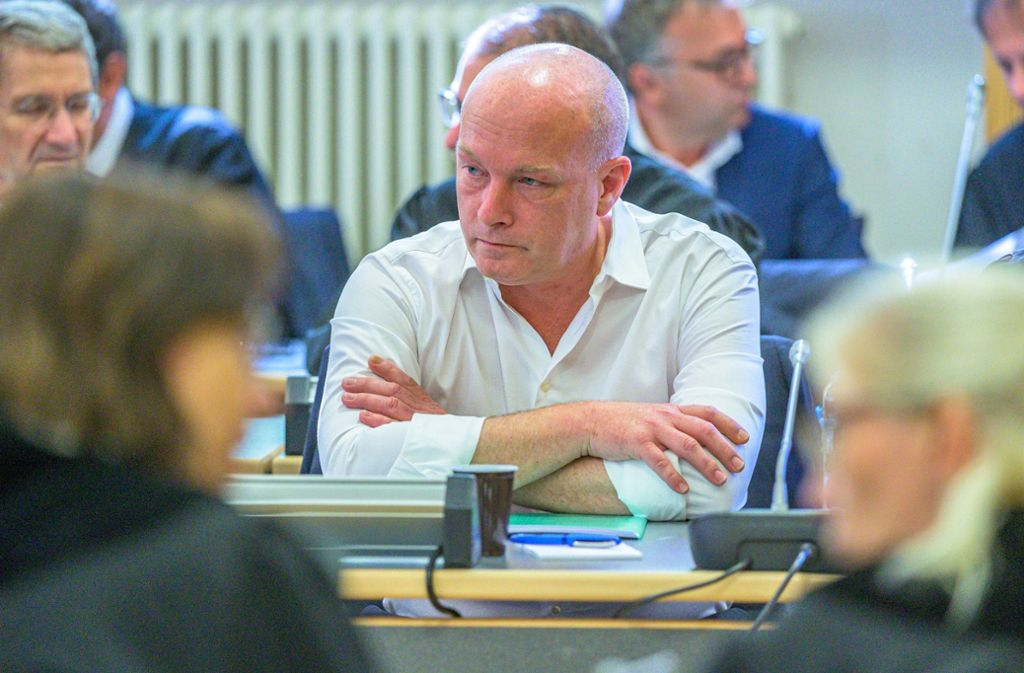 Gerne hemdsärmelig, gerne hitzig: Der suspendierte OB Joachim Wolbergs vor Gericht Foto: dpa