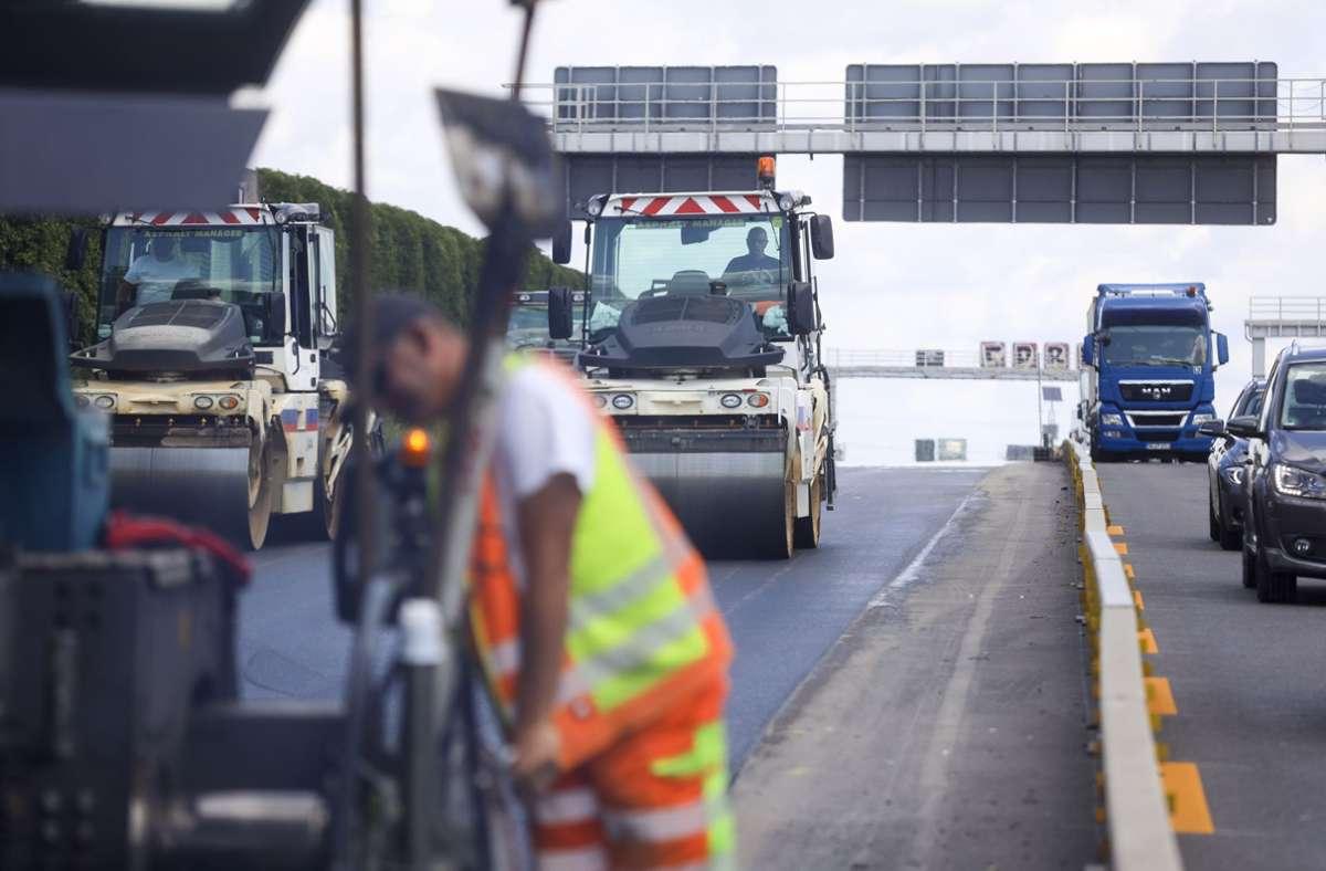 Auf der A81 stehen wieder Bauarbeiten an. Foto: factum/Weise/Simon Granville/factum