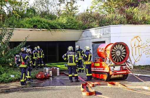 Garagenbrände häufen sich auffällig