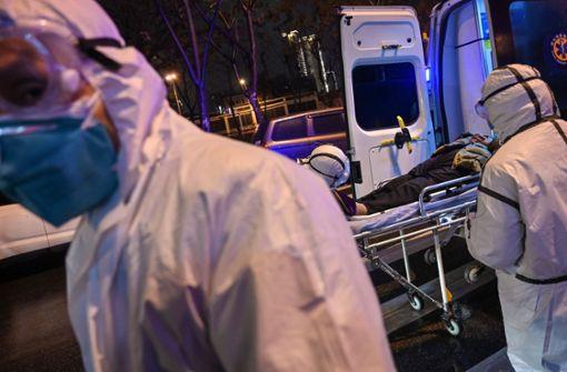 Zahl der Toten in China steigt auf 56