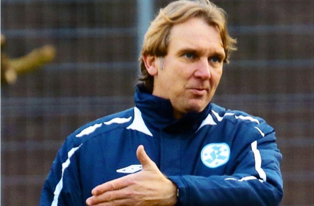 Gerd Dais gibt seit Jahresbeginn bei den Stuttgarter Kickers die Richtung vor. Foto: Baumann