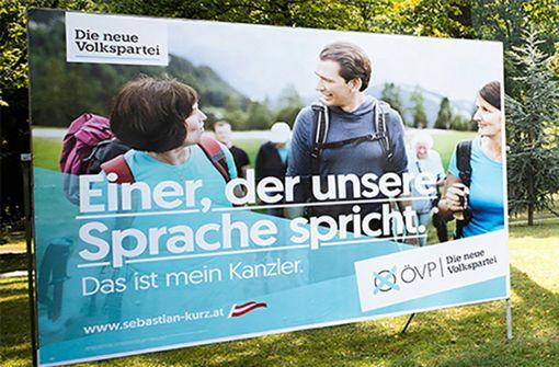 ÖVP und FPÖ werben mit gleichem Slogan