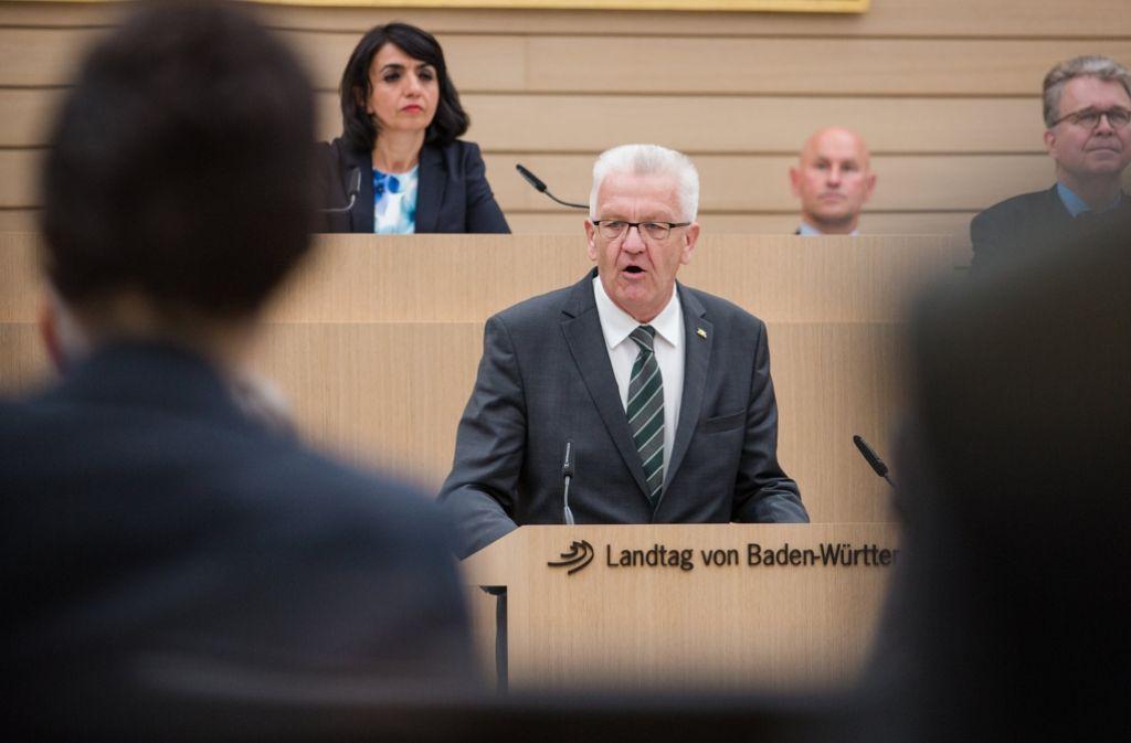 Trotz der Brexit-Entscheidung von Großbritannien hat Europa seine besten Tage noch vor sich - meint Ministerpräsident Winfried Kretschmann. Foto: dpa