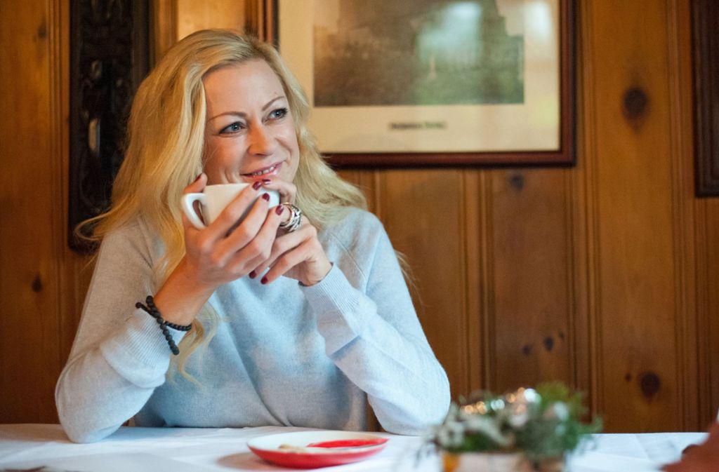 Jenny Elvers sorgte mit einem Alkoholabsturz für Schlagzeilen. Foto: dpa