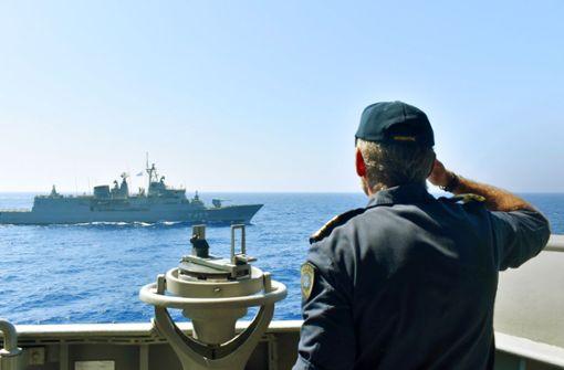 Machtspiele im Mittelmeer