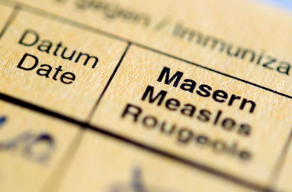 Kommt bald eine Impfpflicht gegen Masern? Foto: dpa