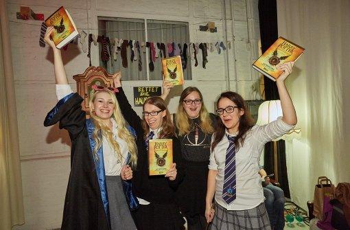 Mit Zauberstab zur Buchpremiere