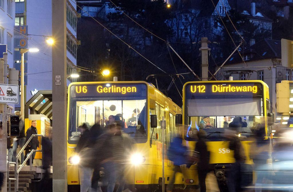 Der Nahverkehr in Stuttgart und der Region soll nach dem Willen der SPD durch Steuerzuschüsse  verbilligt werden. Foto: dpa