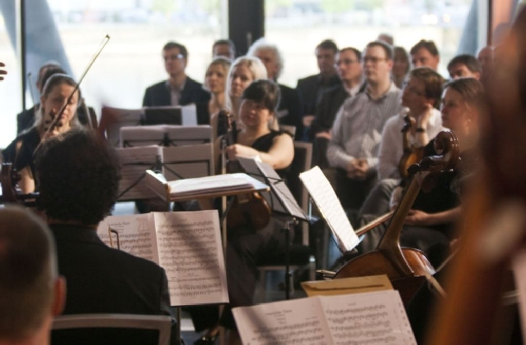 """""""Es ist wichtig, mit Konzertprojekten das humane Gesicht der Universität nach außen zu tragen."""" Foto: Rumpenhorst"""