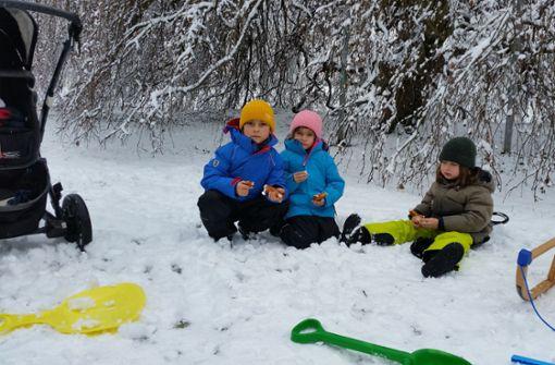 Winterzauber im Höhenpark