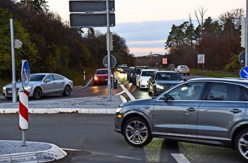 Radler-Brücke und breitere Kreuzung