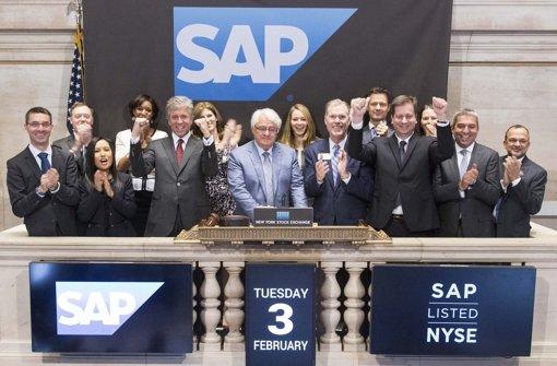 SAP will der Konkurrenz den Takt vorgeben