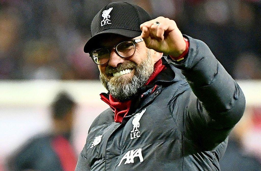 Ein Garant für gute Sprüche: Jürgen Klopp, der Trainer des FC Liverpool. Foto: AFP/Barbara Gindl