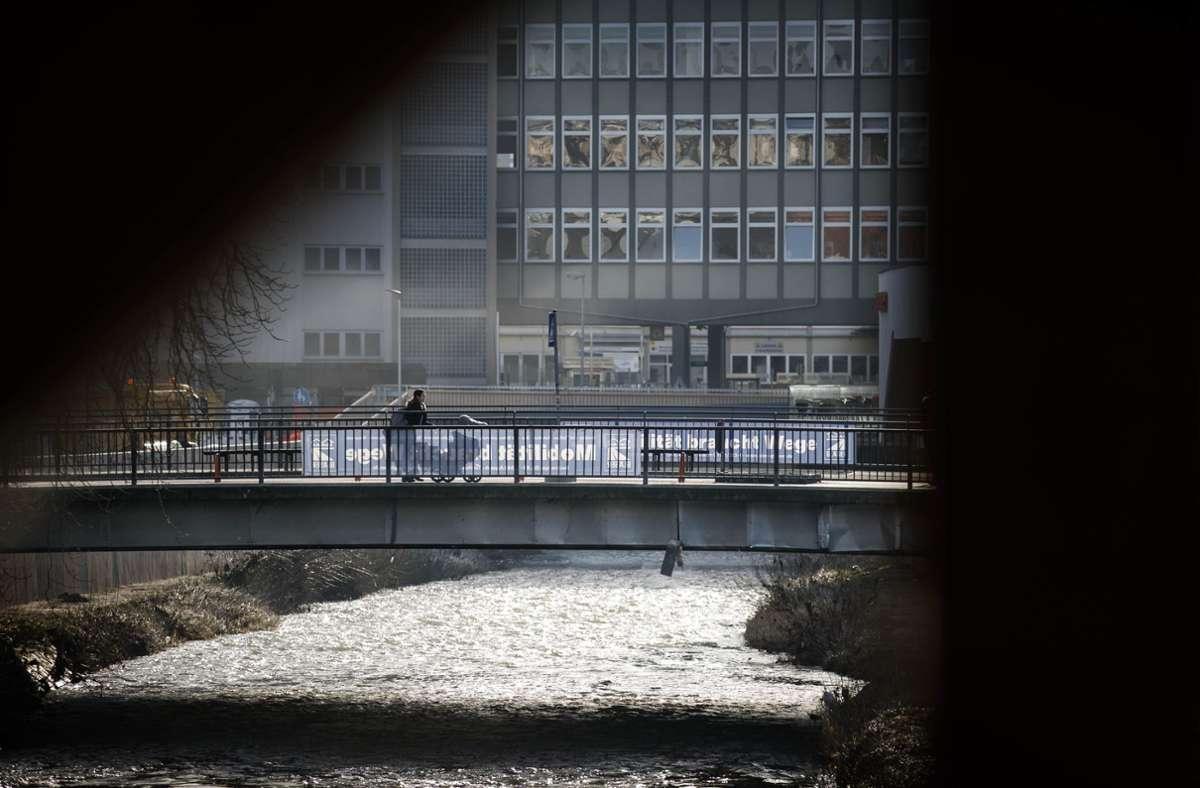 Die alte Aspacher Brücke ist bereits 2018 abgebaut worden. Foto: /Gottfried Stoppel/Archiv