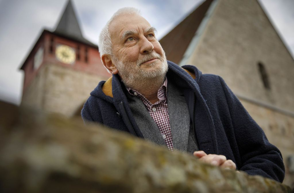 Christoph Müller lebt seit sieben Jahren in Winterbach. Foto: Gottfried Stoppel