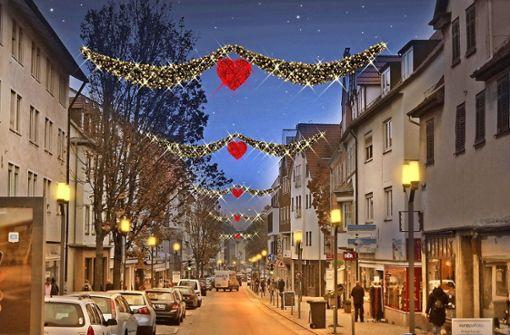 Stuttgarter Straße bekommt Lichterglanz