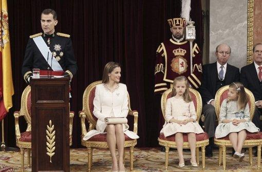 König Felipe VI. vereidigt