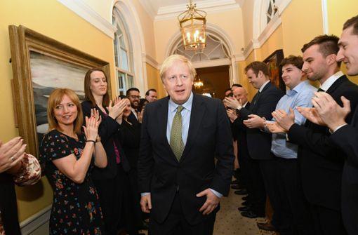 Freie Bahn  für Boris