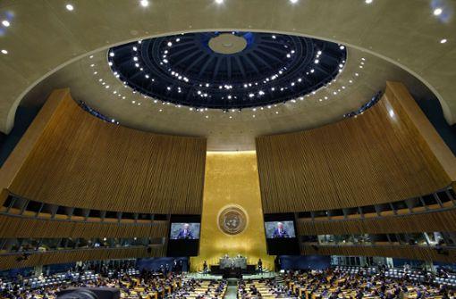 Taliban wollen an Generaldebatte der Vereinten Nationen teilnehmen