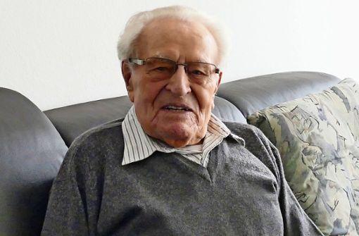 100 Jahre alt: Alles Gute zum Geburtstag, Willi Zett!