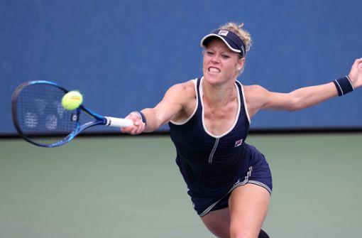 Laura Siegemund steht bei Grand-Slam im Doppel-Finale