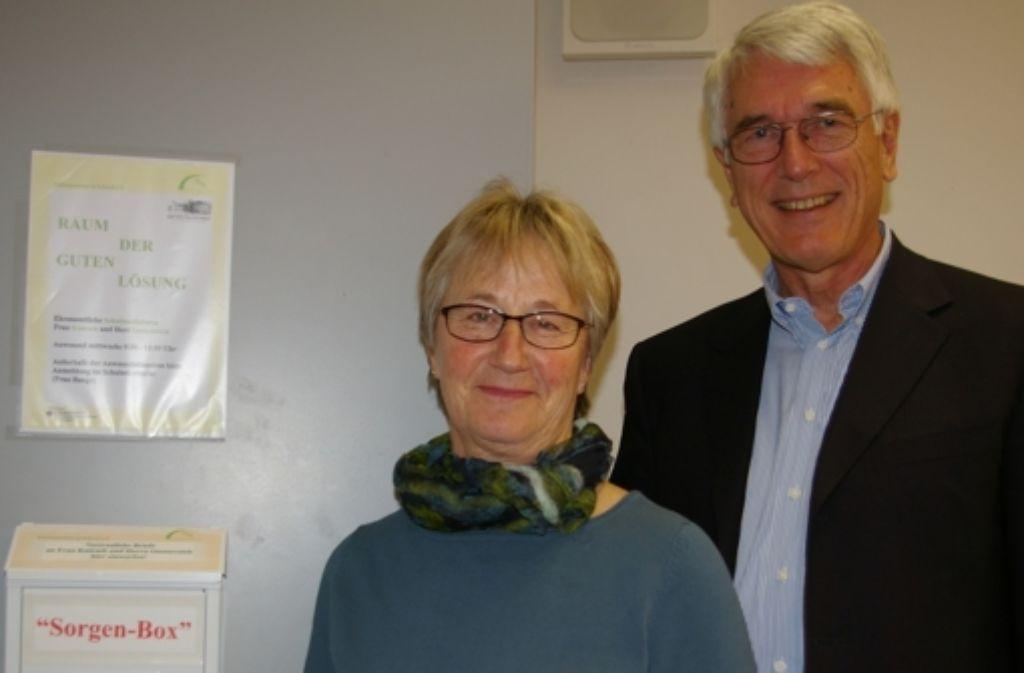 Die Seniorpartner Monika Knirsch und Jörg Oesterreich. Foto: Alexandra Kratz