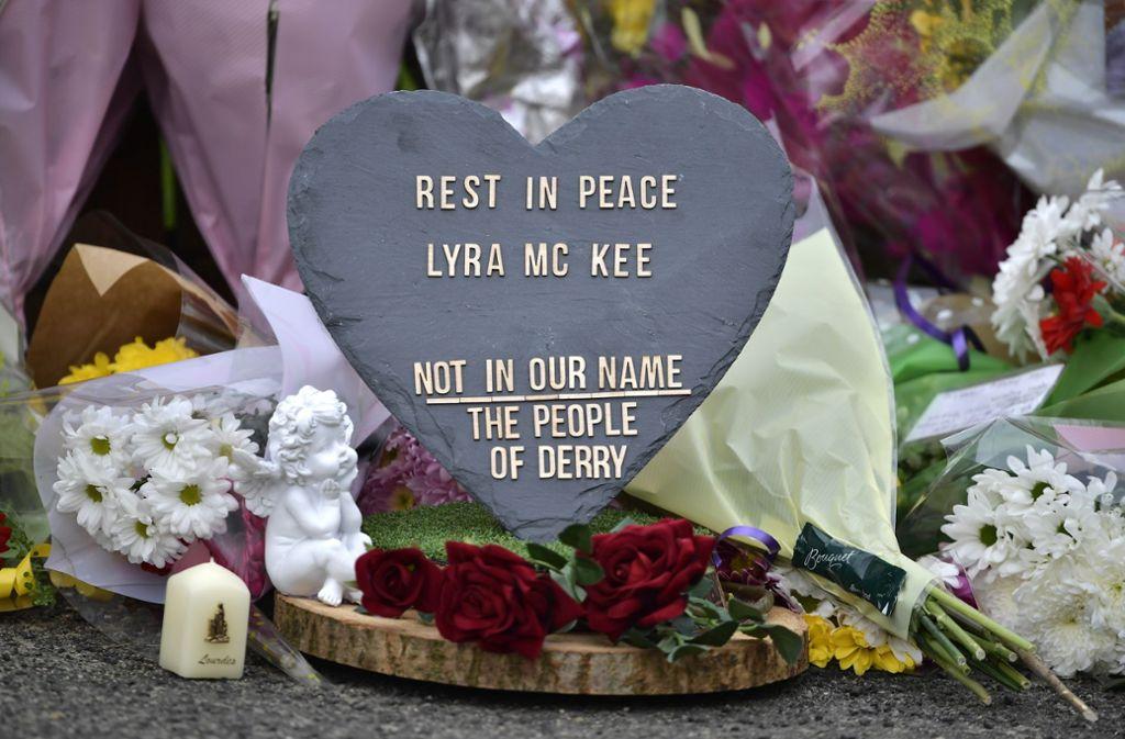 Lyra McKee wurde am Rande von Ausschreitungen in Nordirland erschossen. Foto: Getty Images Europe