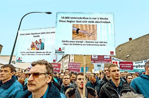 Rekordjahr und Proteste bei Siemens
