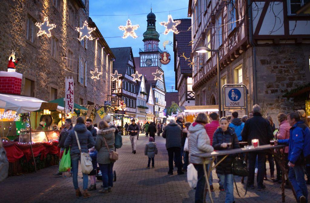 """In Kirchheim steht der  Weihnachtsmarkt in diesem Jahr unter dem Motto """"Fabelhafte Weihnachten."""" Foto: Ines Rudel/Ines Rudel"""