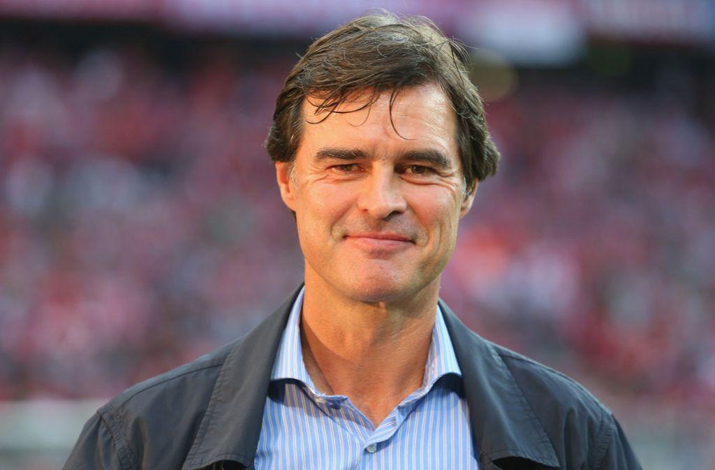 Thomas Berthold kritisiert den VfB Foto: Getty