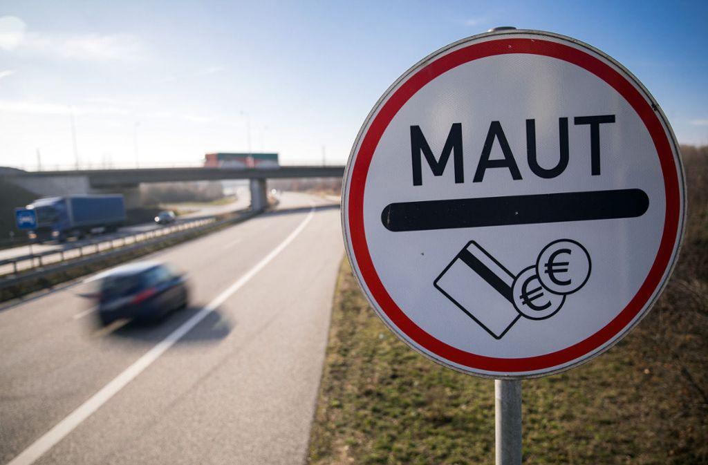 Der Versuch einer Pkw-Maut in Deutschland ist gescheitert. Foto: dpa/Jens Büttner