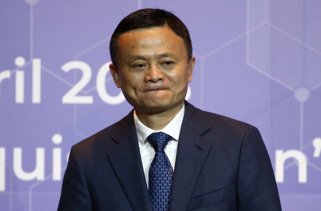 Jack Ma ist einer der reichsten Männer Chinas. Foto: AP