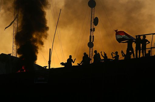 Raketen auf Flughafen von Basra abgefeuert