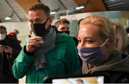 Der Kreml erkennt Nawalny als Gegner an