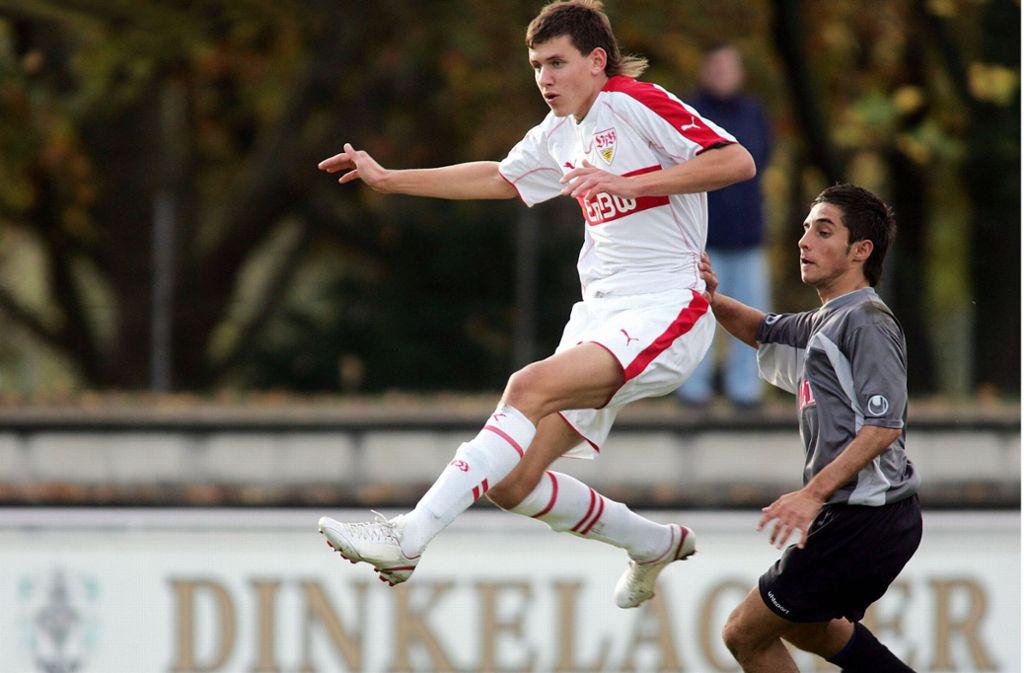 Adam Szalai 2005: Der Stürmer macht den VfB mit seinem Treffer zum deutschen A-Junioren-Meister. Foto:Baumann Foto:
