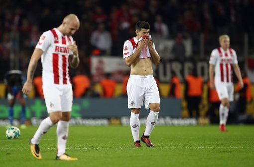1. FC Köln ist am Tiefpunkt angelangt