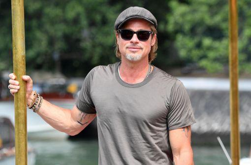 Brad Pitt besucht Sonntags-Gottesdienst von Kanye West