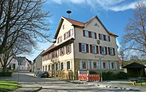 Ehemaliges Rathaus als  Flüchtlingsheim