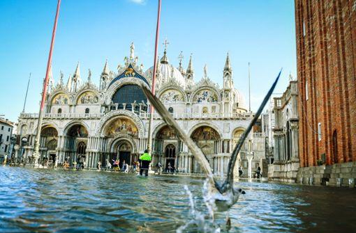 Das Wasser frisst sich in Venedigs Seele