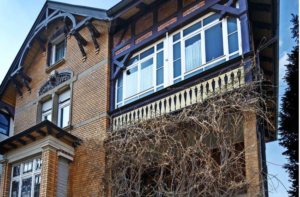 Die Villa eignet sich laut der Stadt nicht für eine öffentliche Nutzung. Foto: Stoppel
