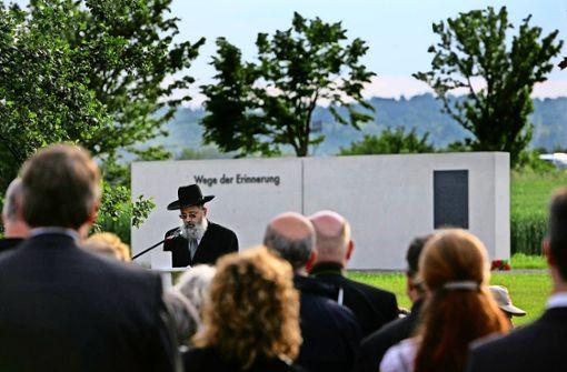 Wunsch nach Vollendung der KZ-Gedenkstätte