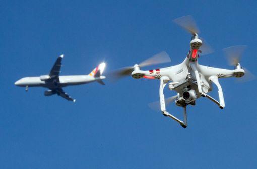 Sind Drohnen auch am Stuttgarter Flughafen ein Problem?
