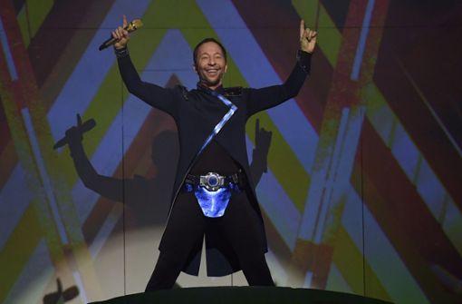 Effektreiche Eurodance-Show