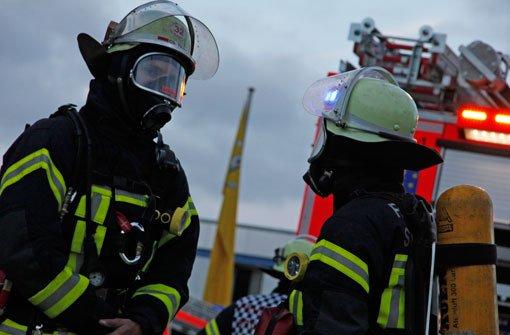 Feuerwehr seit Stunden im Einsatz