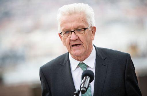 Wie Winfried Kretschmann über die grüne Kanzlerkandidatin denkt
